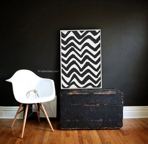 Image of CHEVRON poster print