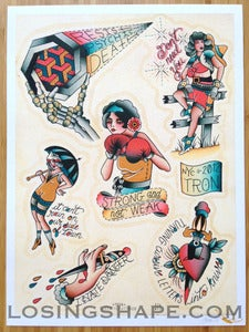 Image of BIKINI KILL PRINT