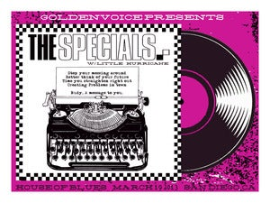 Image of The Specials - HOB San Diego Poster