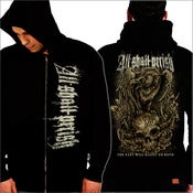 Image of ALL SHALL PERISH - The Past With Haunt Zipper Hood