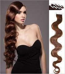 "Image of 20"" MYLUXURY1ST 20 Pieces Remy Tape in Body Wavy 50 grams"