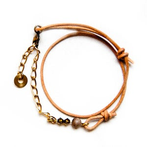 Image of Montmartre Bracelet in Leather