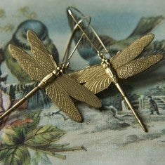 Image of Dragonfly Earrings by Larissa Loden
