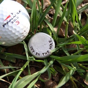 Image of Get In The Hole golf ball marker
