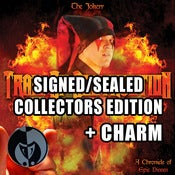 Image of TOD JESTERS REVENGE SEALED/SIGNED COLLECTORS EDITION + CHARM