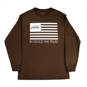 Image of TRUST LS Tee in Chocolate