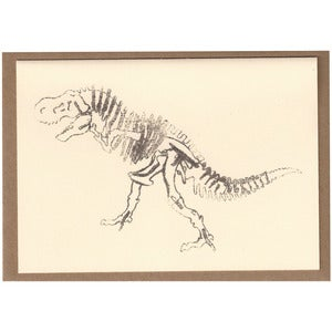 Image of Dinosaur Card [Bones]