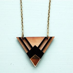 Image of Egyptian Triangle Necklace by Nylon Sky
