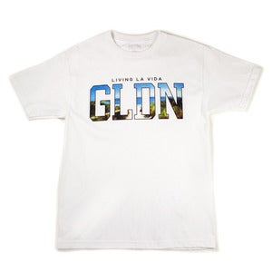 Image of Livin' la vida GLDN SS Tee in White