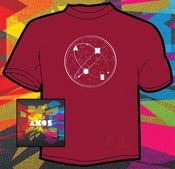Image of Axes - Axes CD and t-shirt