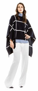 Image of Rosan Windowpane Poncho