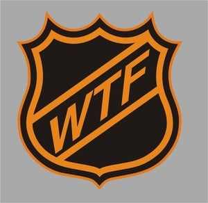 Image of WTF hockey shirt