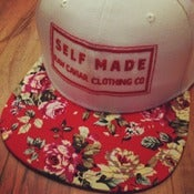 Image of Limited Edition Raw Caviar Red Floral Snapback