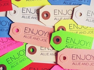 Image of 20 gift tags