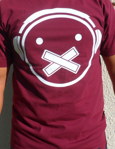 Image of Icon tee (Burgundy)