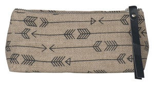 Image of Arrow Linen Pencil Bag