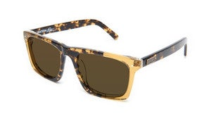 Image of 9FIVE WATSON AMBER TORTOISE SPLIT POLARIZED