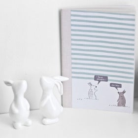 Image of Stripy Bunnies Notebook