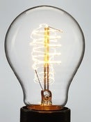 Image of CLASSIC EDISON | loop filament lightbulb | 40W & 60W