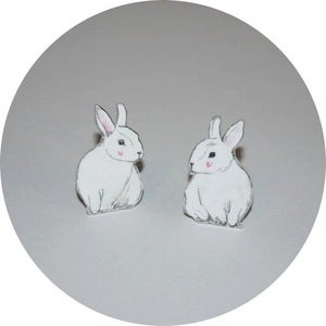 Image of Collar Adornment: Rabbits
