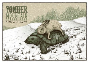 Image of Yonder Mountain String Band at Belly Up in Aspen, CO Poster