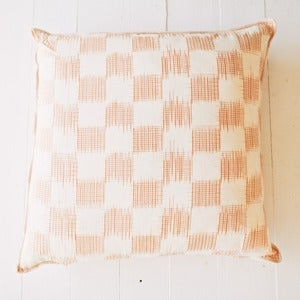 "Image of Tangerine El Sol 30"" Pillow"