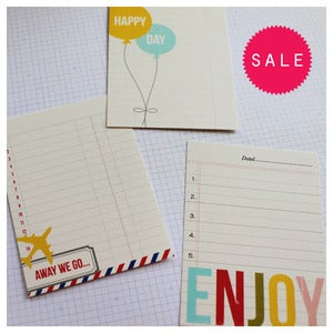 Image of Graphic Journal Cards
