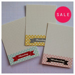 Image of Daily Pattern Journal Cards