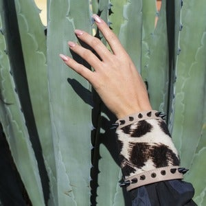 Image of Spike Shearling Cuff