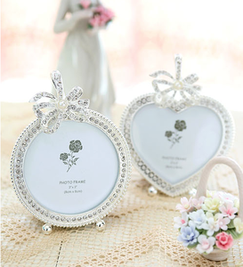 Image of Wedding crystal frame
