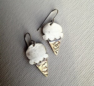 Image of Ice Cream Earrings