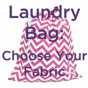 Image of Extra Large Laundry Bag for Dorm and Travel : Choose Your Fabric