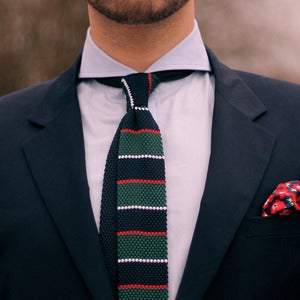 Image of Trashness Knit Tie