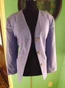 Image of &quot;Power Lilac&quot; 3 Button Blazer