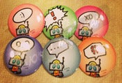 Image of The Ara-Rangers button set #2