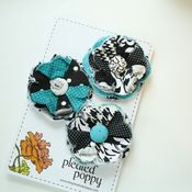 Image of set of 3 posy pins - 815