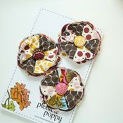 Image of set of 3 posy pins - 816