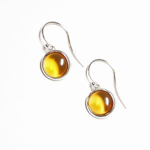 Image of pastille drop earrings