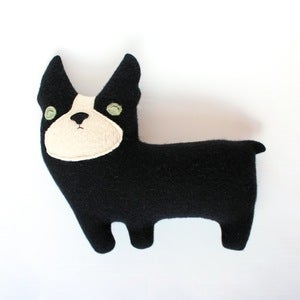 Image of Boston Terrier Plushy Friend