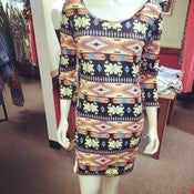 Image of Tribal Plus Size Dress