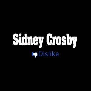 Image of Dislike Sidney Crosby shirt