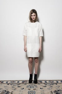 Image of W13 4 Pocket Shift Dress - Ivory