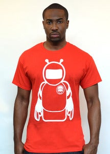 Image of Fm Spacemane Tee (Red)