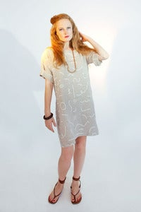 Image of Squiggles Boat Dress