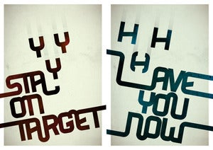 Image of On Target/Have You Set of 2 Prints