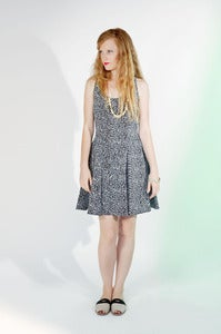 Image of Notebook Swing Dress