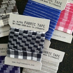 Image of Linen Fabric Tapes