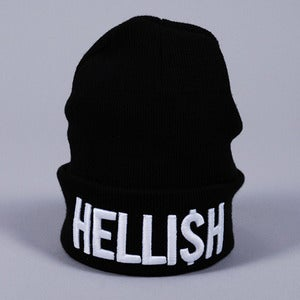 Image of Hellish Beanie (Black)