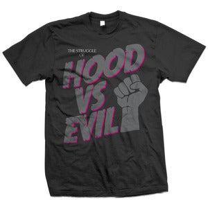 Image of Hood VS Evil T  Neon Pink