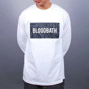 Image of Boxed Python L/S Tee (White)